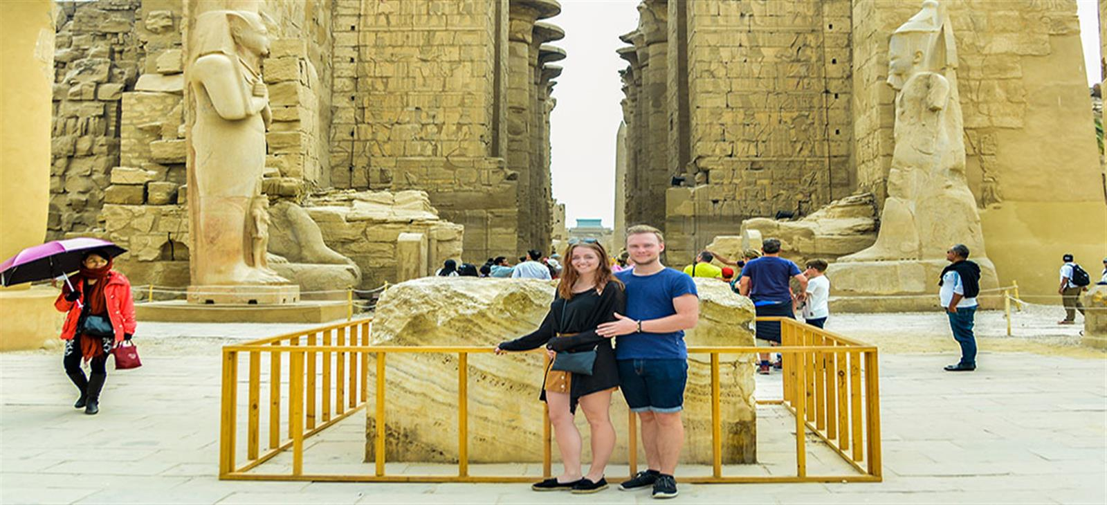 Luxor Day Tour By Flight from Dahab